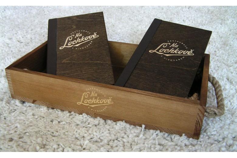 Box na chléb + Cash box - Pivovar Lochkov